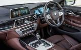 BMW 730Ld interior