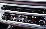 BMW 730Ld centre console