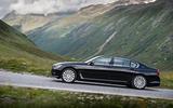 BMW 740Le xDrive side profile