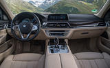 BMW 740Le xDrive dashboard