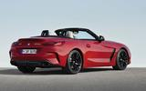 BMW Z4 official side rear