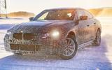 BMW BMW i4 winter testing