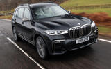 BMW X7 30d M Sport 2019 UK review- hero front
