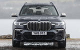 BMW X7 30d M Sport 2019 UK review - static front