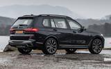 BMW X7 30d M Sport 2019 UK review - hero static rear