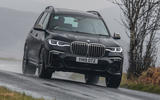 BMW X7 30d M Sport 2019 UK review - hero front cornering