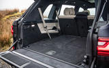 BMW X7 30d M Sport 2019 UK review - boot