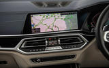 BMW X7 30d M Sport 2019 UK review - maps