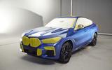2019 BMW X6 Vantablack concept