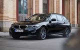 2020 BMW 330e Touring - front