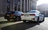 2020 BMW 330e Touring - rear