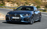 2020 BMW 4 Series - cornering front