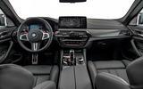 BMW M5 2020 - static dashboard