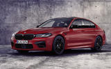 BMW M5 2020 - static front
