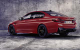 BMW M5 2020 - static rear