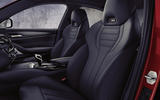 BMW M5 2020 - front seats