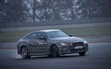 BMW i4 sliding