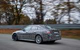 BMW i4 side rear