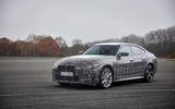 BMW i4 front side
