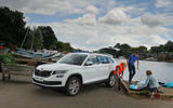 Paddleboarding with the Skoda Kodiaq