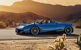 754bhp Pagani Huayra Roadster - extreme 1280kg drop-top hypercar