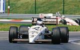 Jonathan Palmer Formula 1 1987