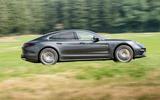 Porsche Panamera Turbo side profile
