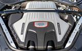 4.0-litre V8 Porsche Panamera Turbo engine