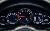 Porsche Panamera Turbo instrument cluster