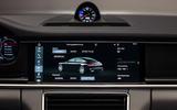 Porsche Panamera Turbo infotainment system