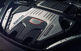 Porsche Panamera Turbo engine bay