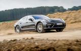 Porsche Panamera Turbo off-roading