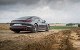Porsche Panamera Turbo rear quarter