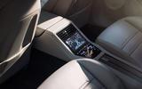 Porsche Panamera Turbo rear console