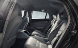 Porsche Panamera Turbo rear seats