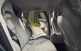 Porsche Panamera Turbo rear seats