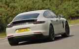 Porsche Panamera 4 E-Hybrid rear cornering