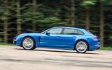 Porsche Panamera Sport Turismo side profile