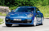 Porsche Panamera Sport Turismo cornering