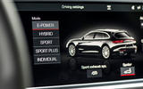 Porsche Panamera Sport Turismo infotainment system