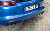 Porsche Panamera Sport Turismo twin exhaust