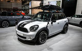 Mini Countryman Cooper at the Paris motor show 2016 - show report and gallery