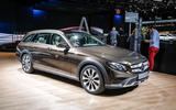 Mercedes-Benz E-Class All Terrain at the Paris motor show 2016 - show report and gallery