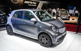Smart Forfour Electric Drive at the Paris motor show 2016 - show report and gallery
