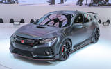 Honda Civic Type R concept at the Paris motor show 2016 - show report and gallery