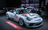 Porsche 911 GT3 Cup at the Paris motor show 2016 - show report and gallery