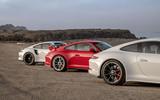 Porsche 911 trio - rears