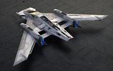 Porsche Star Wars spacecraft - rear