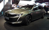 Peugeot 508 SW First Edition Paris reveal front