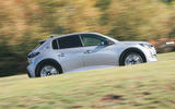 Britain's Best Car Awards 2020 - Peugeot e-208 - side